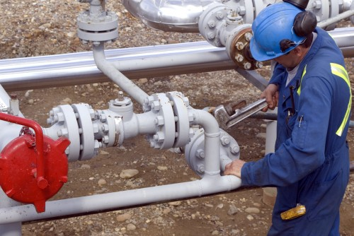 Gas Operator lone worker
