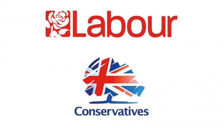 Labour, Conservatives Manifestos