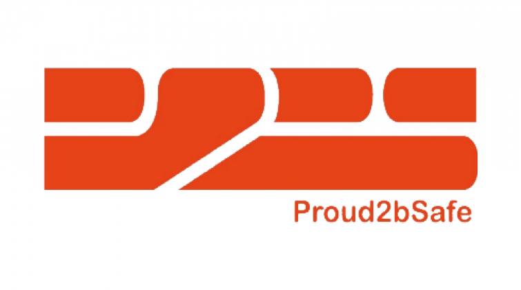 Proud2bsafe logo