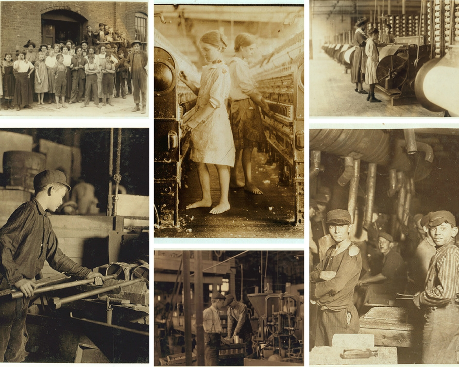 Child labour during industrial revolution