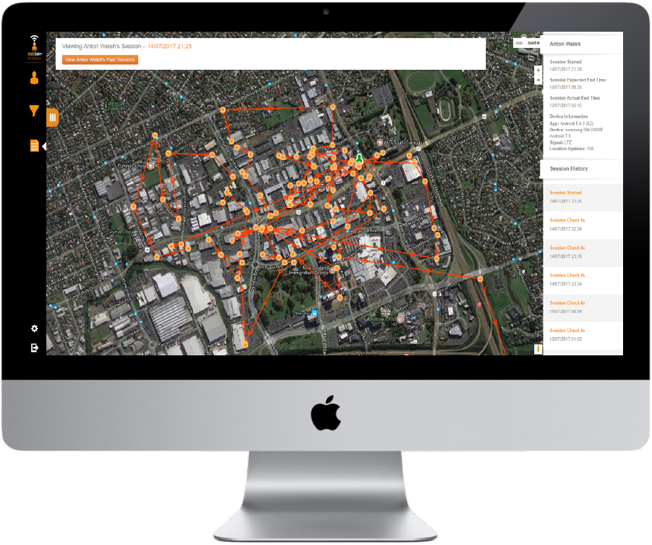 Lone Worker Tracking and Monitoring | GPS Tracking App