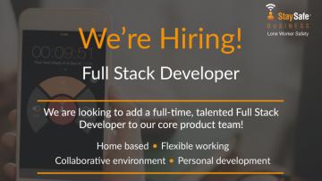 Full Stack Developer Job Ad